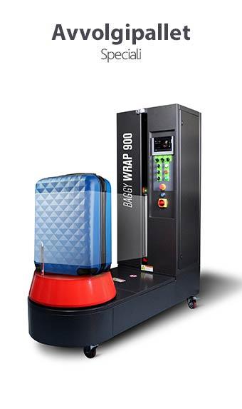 Avvolgitore semiautomatico per valigie | ISG PACK