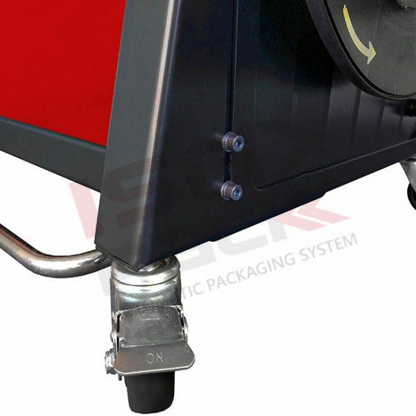 Regolazione altezza piano di lavoro reggiatrice automatica Easy Strap 309-312