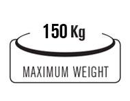 Portata massima 150 Kg