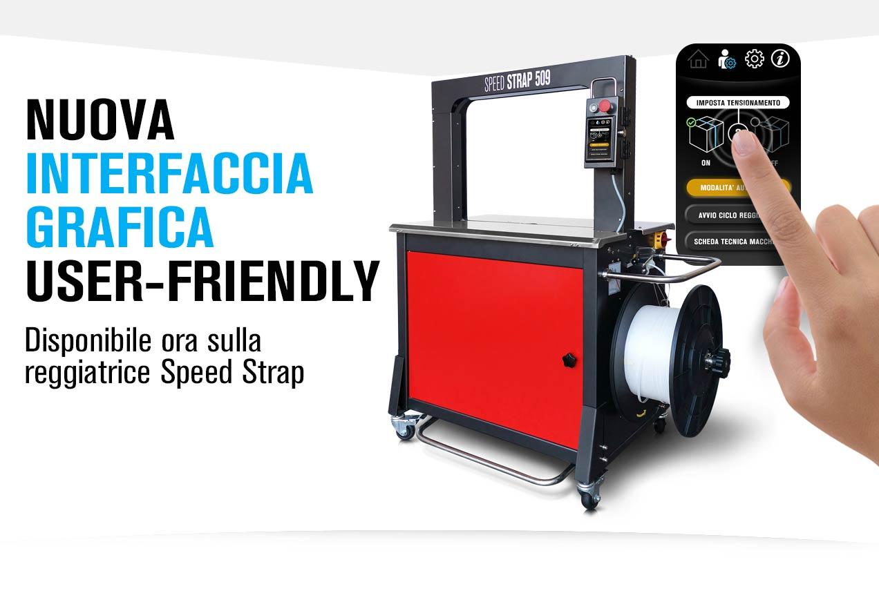 Display touch reggiatrice Speed Strap